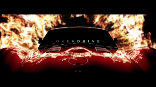 OVERDRIVE – opening title